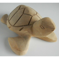 Turtle Wooden Carving - Handicrafts