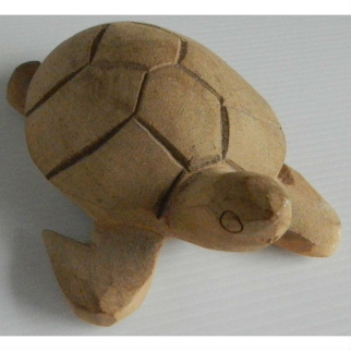 Turtle Wooden Carving