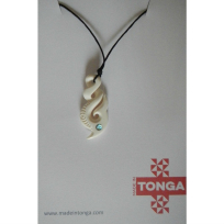 Kahoa Bone Life Hook - Carving