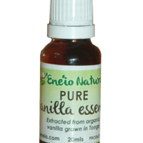 Eneio Naturals Pure Vanilla Essence 20ml - Food
