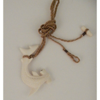 Kahoa Bone Hammerhead - Handicrafts