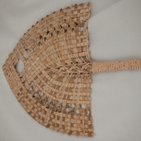 Tongan Fan - Weaving