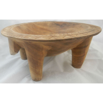 Wooden Kava Bowl (Kumete) - Handicrafts