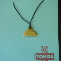 Kahoa Shell Whale Tail (Tofua'a) - Carving