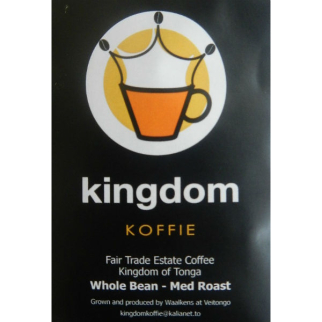 Kingdom Koffie Whole Coffee Beans Medium Roast 500g