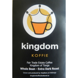 Kingdom Koffie Whole Coffee Beans Extra Dark Roast 500g