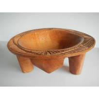 Traditional Kava Bowl (Kumete) - Carving