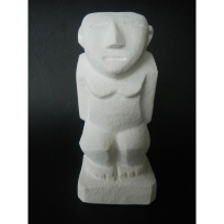 Hikule'o The Navigator God - Carving