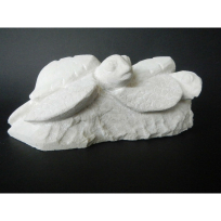 Pair of Baby Turtles - Carving