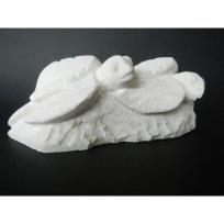 Pair of Baby Turtles - Tominiko Kama Stone Carver