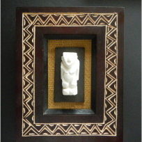 Framed Navigator God - Carving