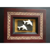 Framed Dolphins - Art, Books & Photography