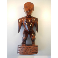 Tongan Goddess - Carving