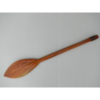 Traditional Paddle - Carving