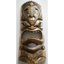 Wall Tiki - Carving