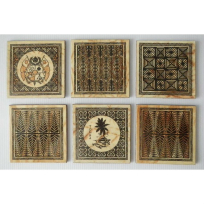 Wooden Coasters - Handicrafts
